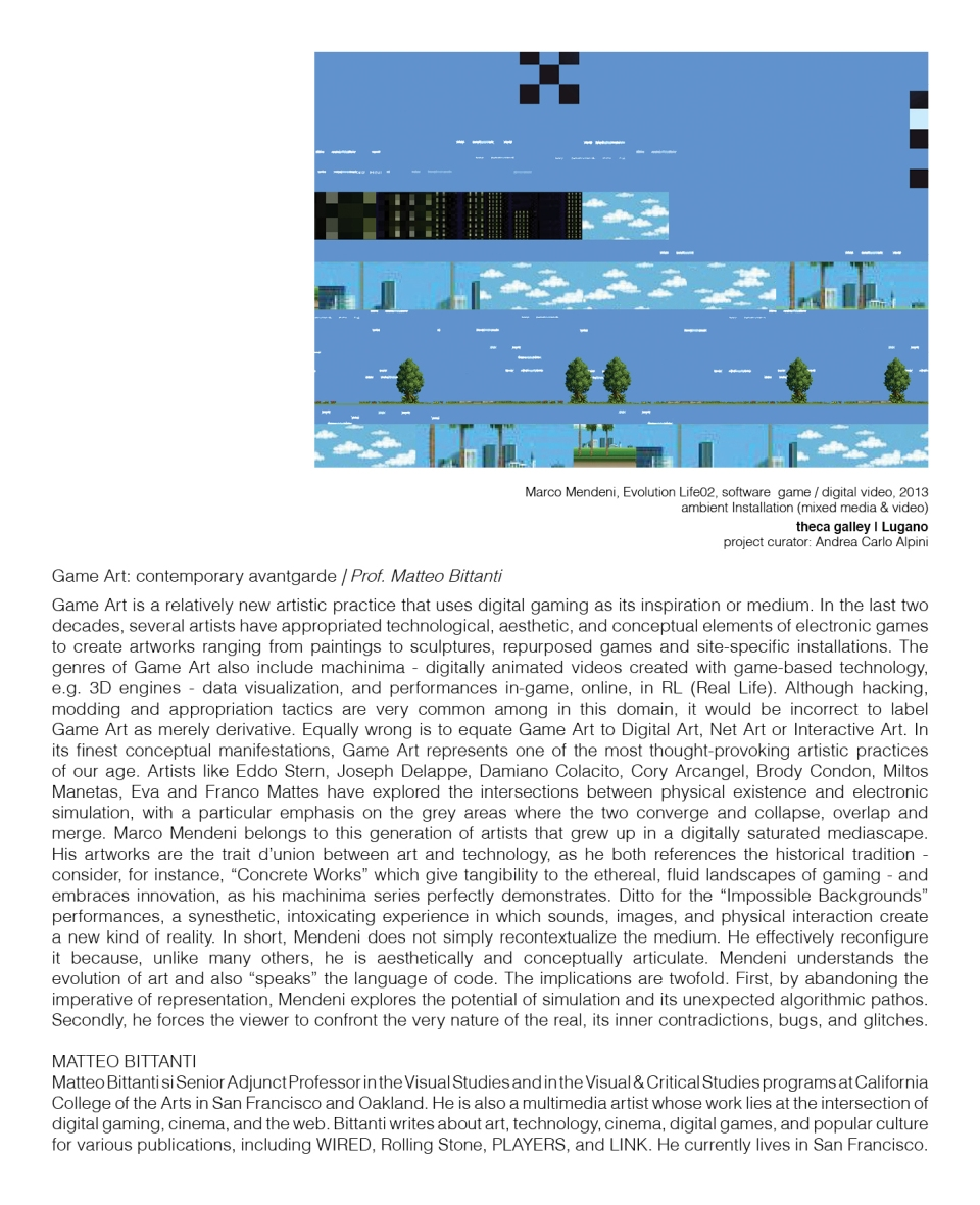 game art pagina speciale catalogo aam13